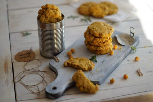Kichererbsen-Ingwer-Kekse